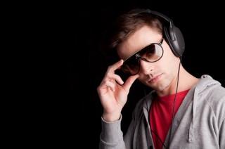J'écoute de la musique tout le temps