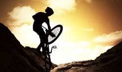 J'adore le trial en vélo !