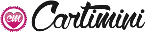 Logo envoyer des bisous avec Cartimini
