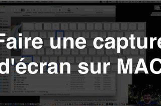 Comment faire capture d'écran mac ?
