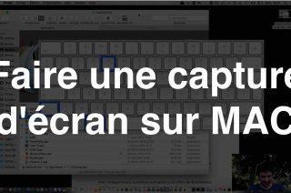 Comment faire capture d'écran mac ?
