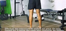 Comment se muscler les mollets